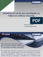 24 25 Construmetal2012 Beneficios Do Uso de Acos Microligados Ao Niobio Em Edificios Industriais