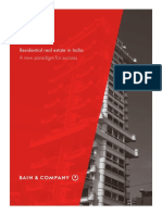 Bain Report India Real Estate