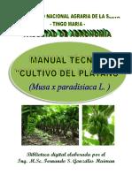 Manual Tecnico Cultivo de Platano