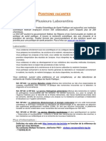 Job Ad Laborantins Fr Mai 2012 2 2