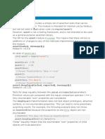 Node JS Notes