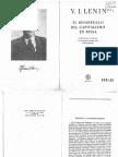 Lenin El Desarrollo Del Capitalismo en Rusia
