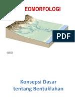 Bahan 3 - PJ Geomorfologi