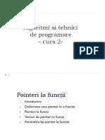 ATP - Curs 2-Pointeri La Functii