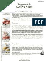 Le restaurant ImPrO'vista lance sa carte de raviolis sucrés