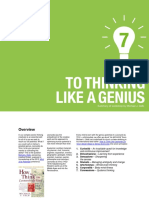 7 Steps to Thinking Like a Genius