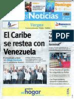 Últimas Noticias Vargas  domingo 5 de junio de  2016