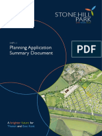 SHP2016 - Planning Application Summary