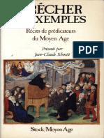 Prêcher d'Exemples - Jean-Claude Schmitt