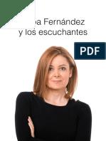 Pepa Fernández y los escuchantes