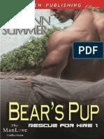 Bellam Summer - Rescate Contratado 01 - El Cachorro Del Oso