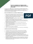 Plan de Trabajo de La Unidad de Tuberculosis