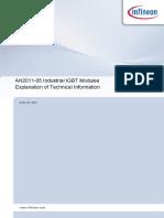 Infineon-AN2011 05 IGBT Modules Explanation-An-V01 02-En