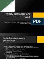 Trendy Rozwoju Sieci Wi-Fi
