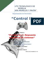 Reporte Practica 3 Control Respuesta amortiguadas y subamortiguadas