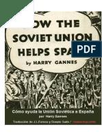Cómo ayuda la Unión Soviética a España