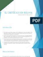 Cretácico en Bolivia