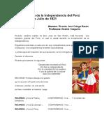 Proclamación de la Independencia del Perú.docx