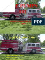 Fire Pumps - Notre Dame Fire School