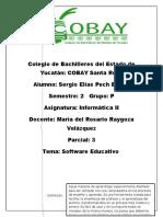 Cuadro Sinoptico de Software Educativo