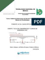 Curso Estructuras de Sección Variable Con Flexibilidades -M. en I. David Ortiz (México)AESVMF