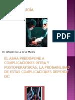 Asma y Cirugia Cursillo Alfredo de La Cruz