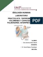 Informe N°5 Lab. de Fisiologia
