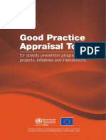 WHO Good Practice Appraisal Tool