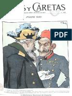 Caras y Caretas 556. 29-05-1909