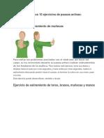 A continuación los 10 ejercicios de pausas activas.docx