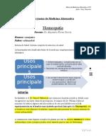 Notas de Medicina Alternativa 2013