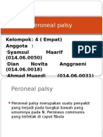 Peroneal Palsy