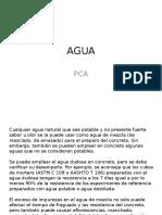 3.- Agua Tecnología Del Concreto