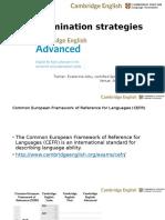 Cambridge ECAE Strategies for Students