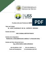 El Juicio Mcdonald's en El Contexto Perúano