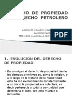 DERECHO  DE  PROPIEDAD  Y  DERECHO  PETROLERO.pptx