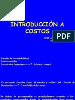 1.- Introduccion a Contabilidad de Costos