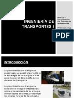 Modulo I_Planificacion Del Transporte