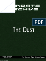 Mandate Archive the Dust
