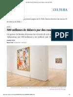 Arte_ 500 Millones de Dólares Por Dos Cuadros _ Cultura _ EL PAÍS Feb. 18 2016