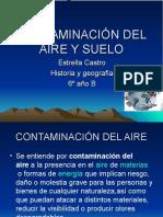 Contaminación Del Aire y Suelo