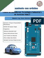 Escrito Estacionamiento Con Arduino