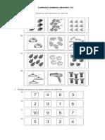 Fichas Matematica Primero