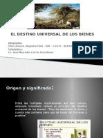 DOCTRINA EL DESTINO UNIVERSAL DE LOS BIENES.pptx