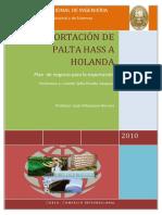EXPORTACION DEPALTAS