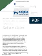 Asociación de Industriales Del Plástico _ Qué Es El Plástico