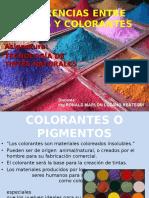 Clase2-Diferencias Entre Tintes y Colorantes o Pigmentos