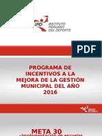 1.-Meta 30 - Implementación de Escuelas Deportivas (1)