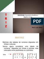 Matriz e Operações