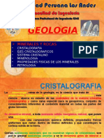 Geologia - Clase IV -A